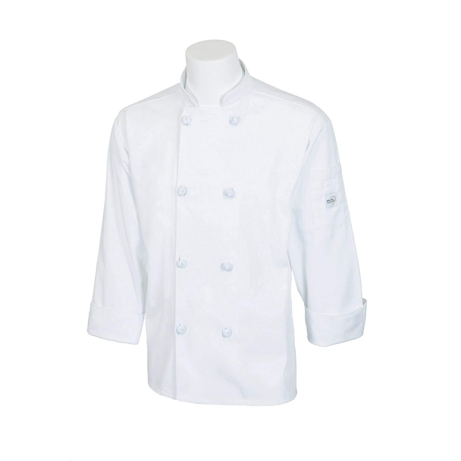 Mercer Culinary M60012WHM chef's coat