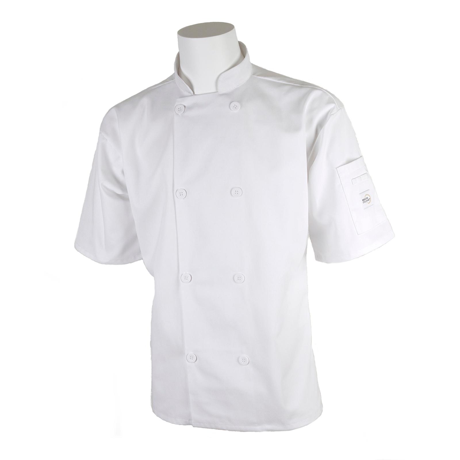 Mercer Culinary M60013WH4X chef's coat