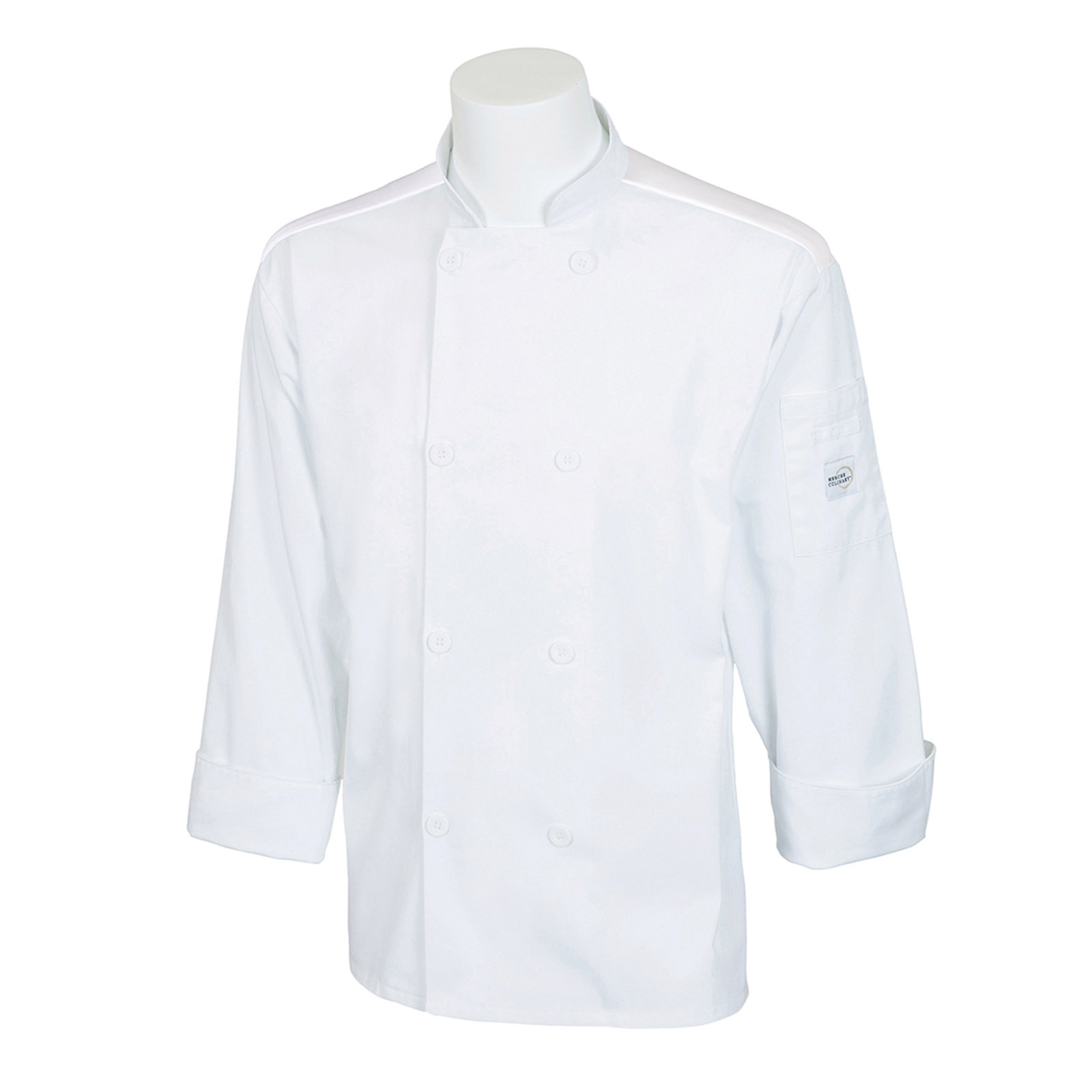 Mercer Culinary M60017WHM chef's coat