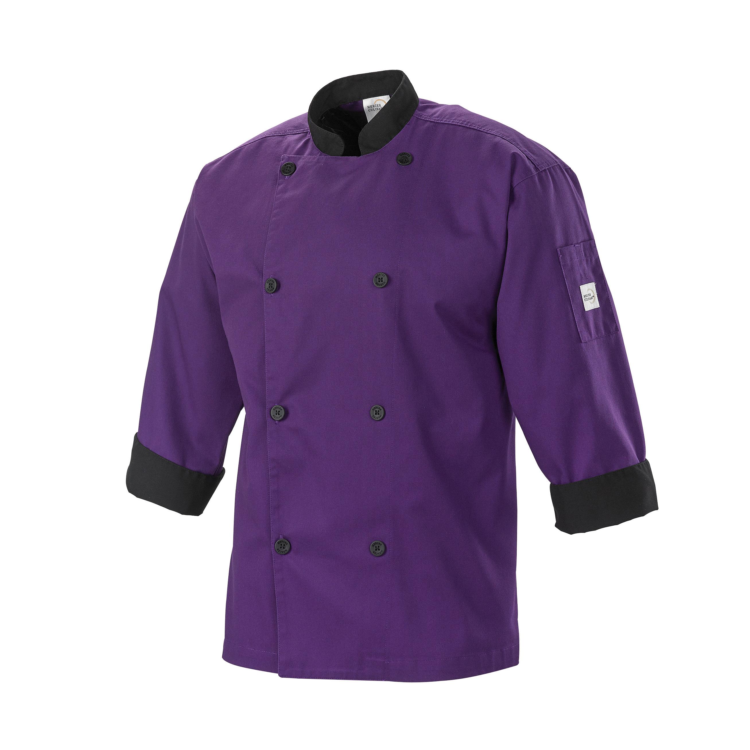 Mercer Culinary M60018PUB4X chef's coat