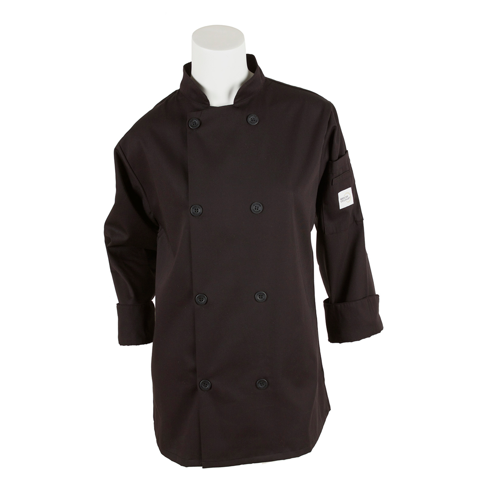 Mercer Culinary M60020BKS chef's coat
