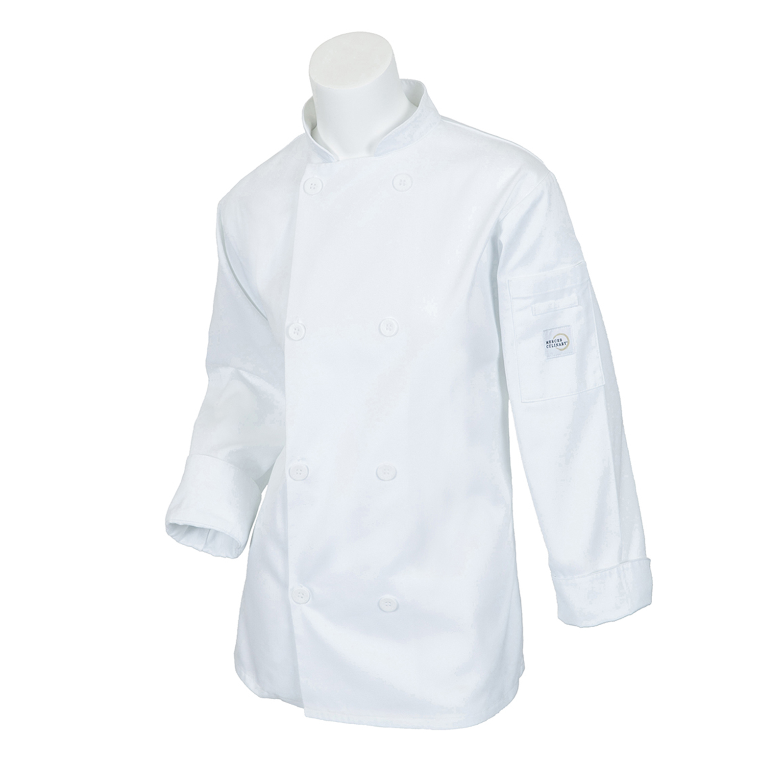 Mercer Culinary M60020WH2X chef's coat