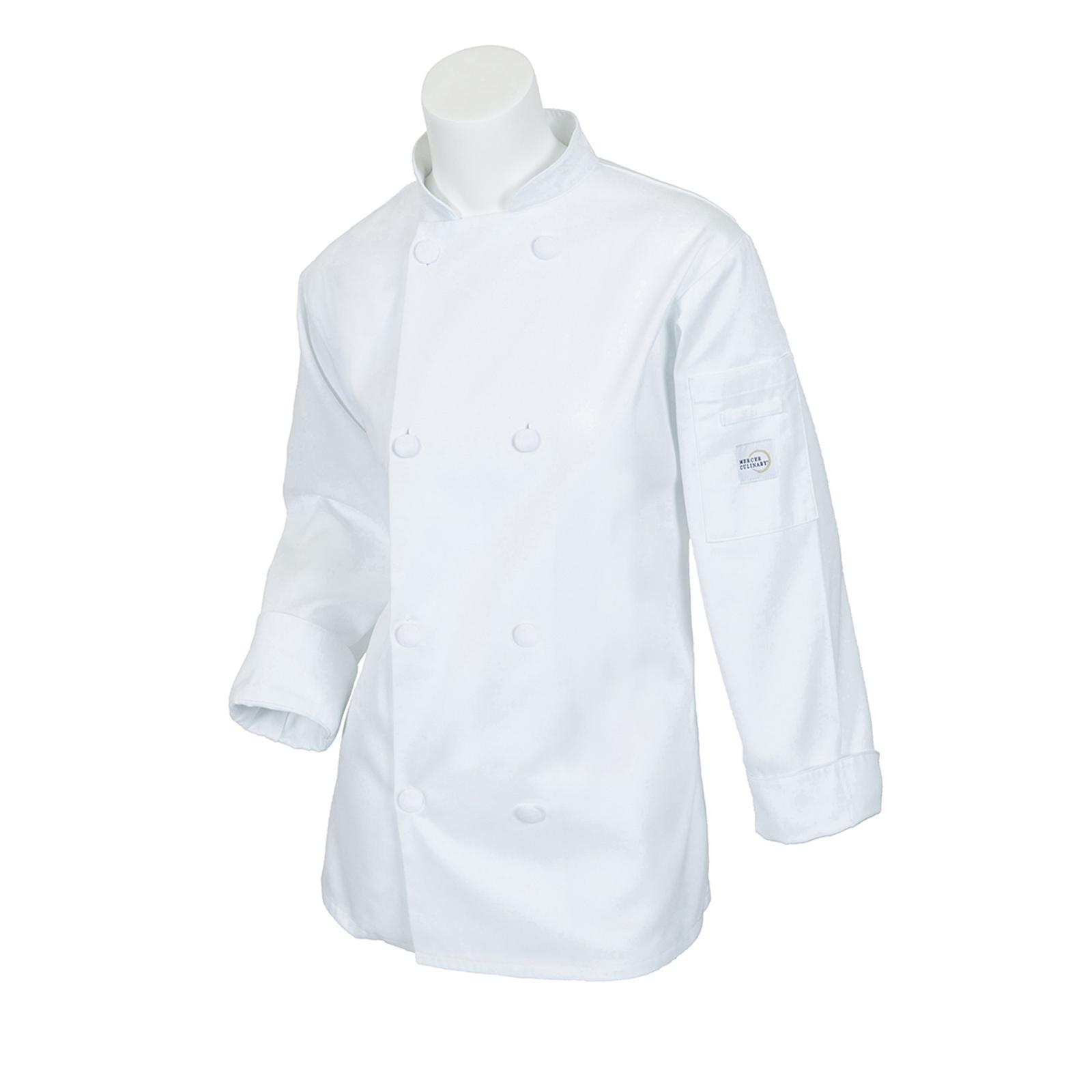 Mercer Culinary M60022WHM chef's coat
