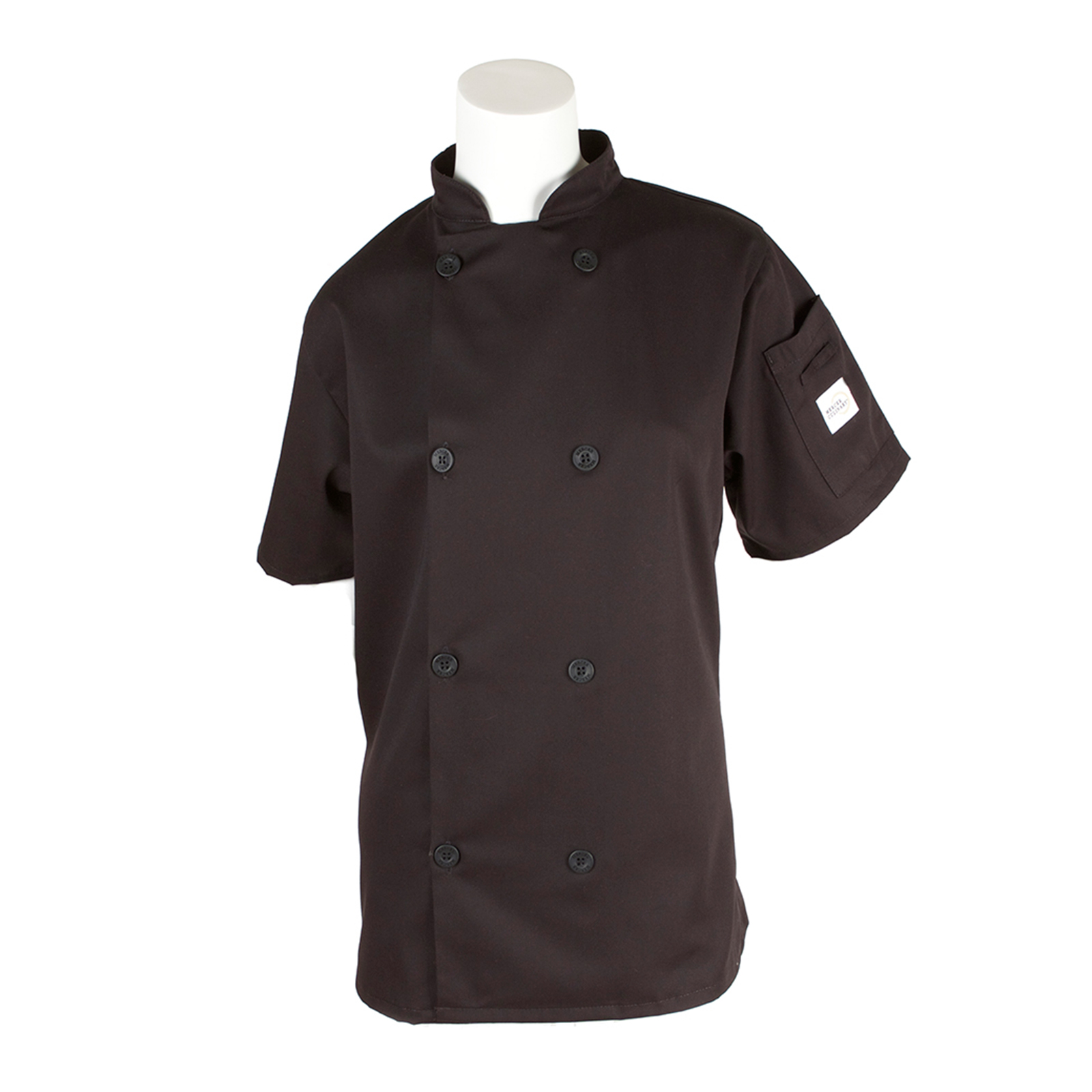 Mercer Culinary M60023BKXXS chef's coat