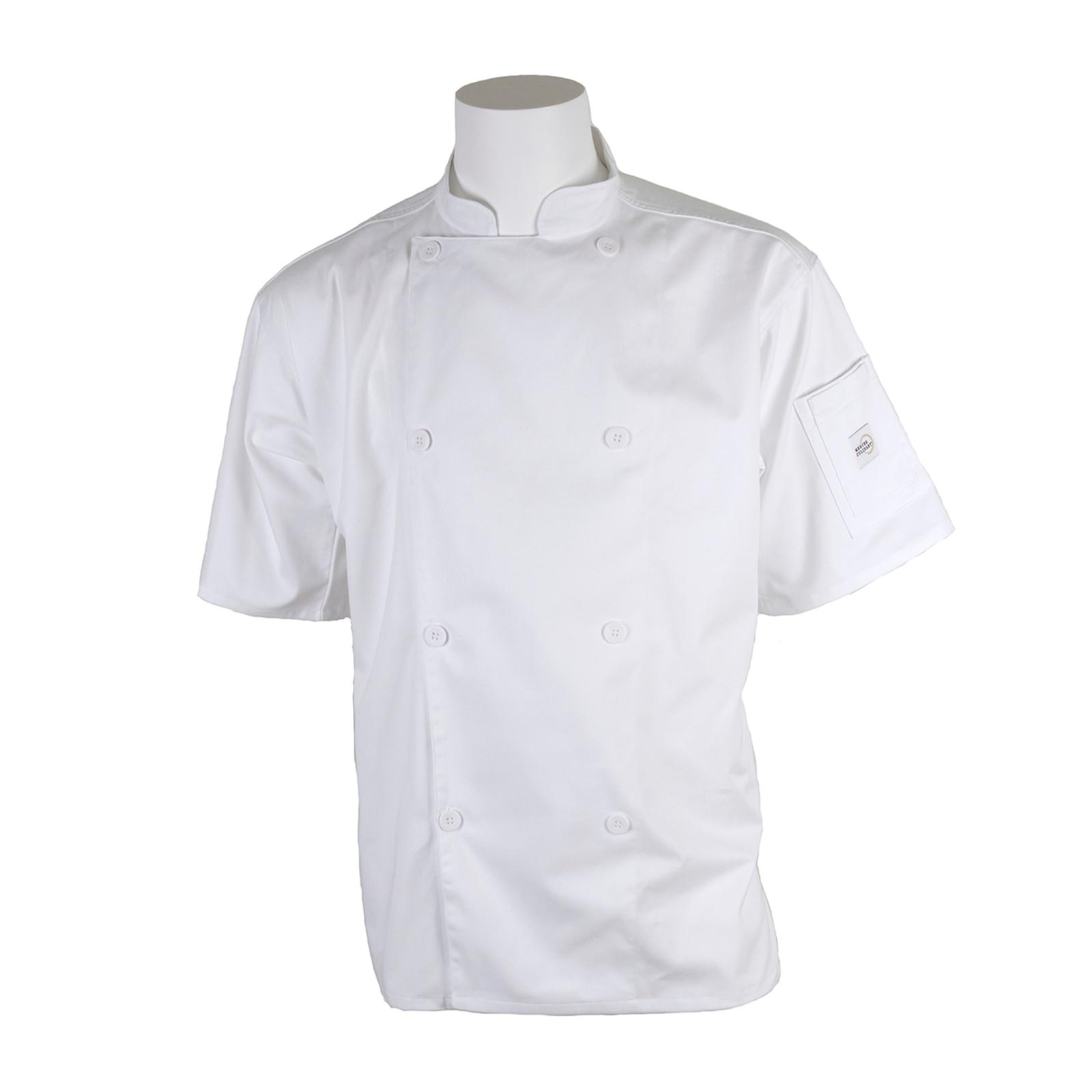 Mercer Culinary M61012WH5X chef's coat