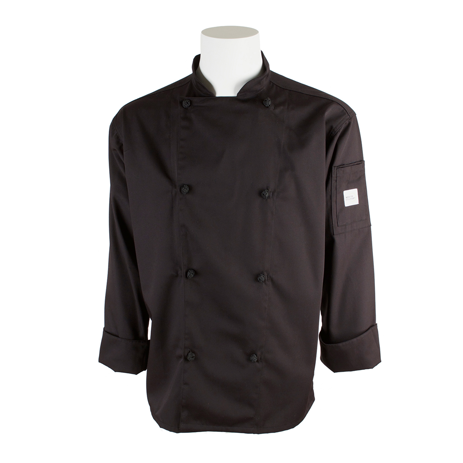 Mercer Culinary M61020BK5X chef's coat