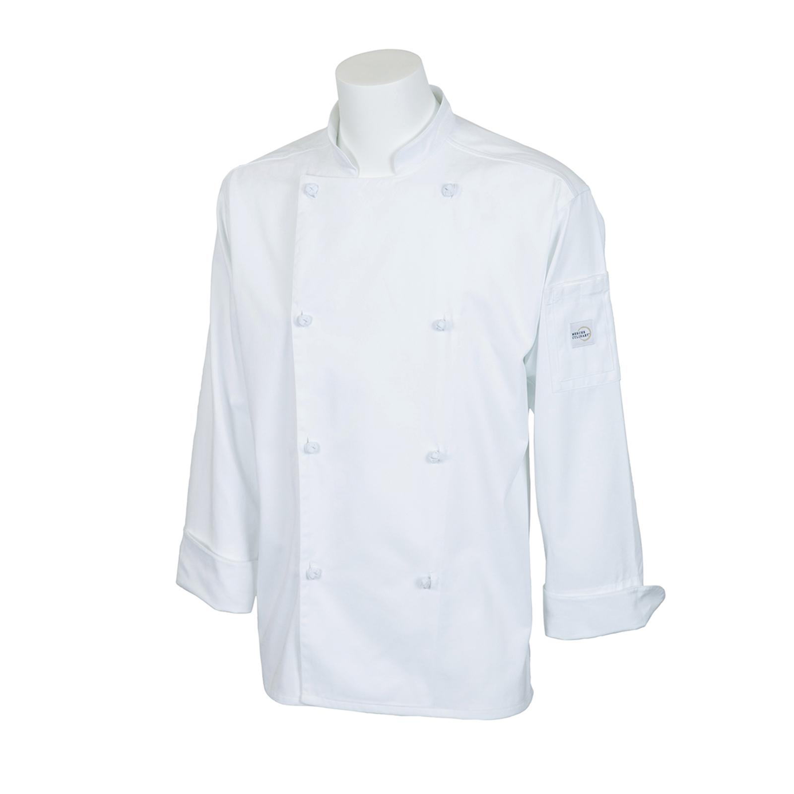 Mercer Culinary M61020WHXS chef's coat