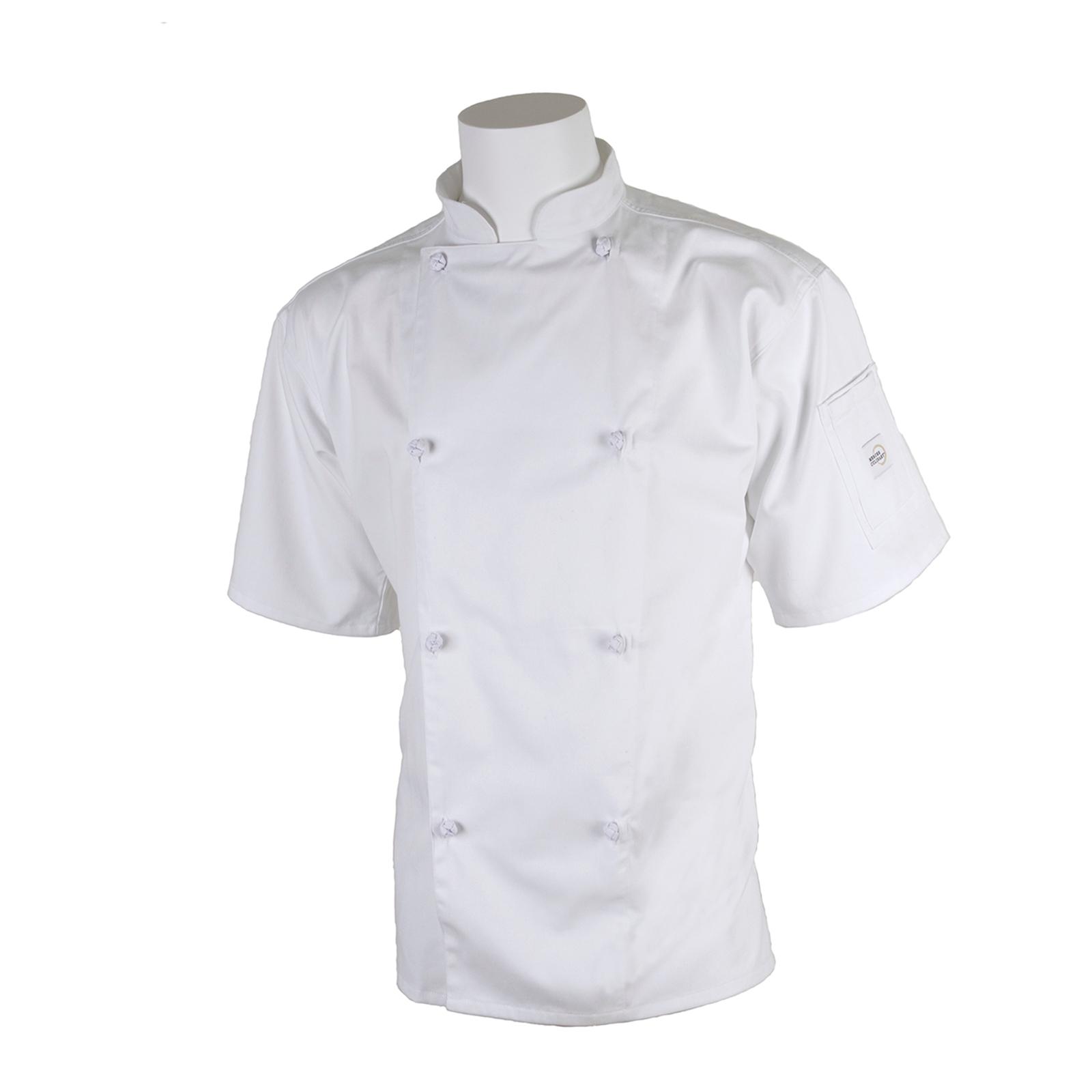 Mercer Culinary M61022WHM chef's coat