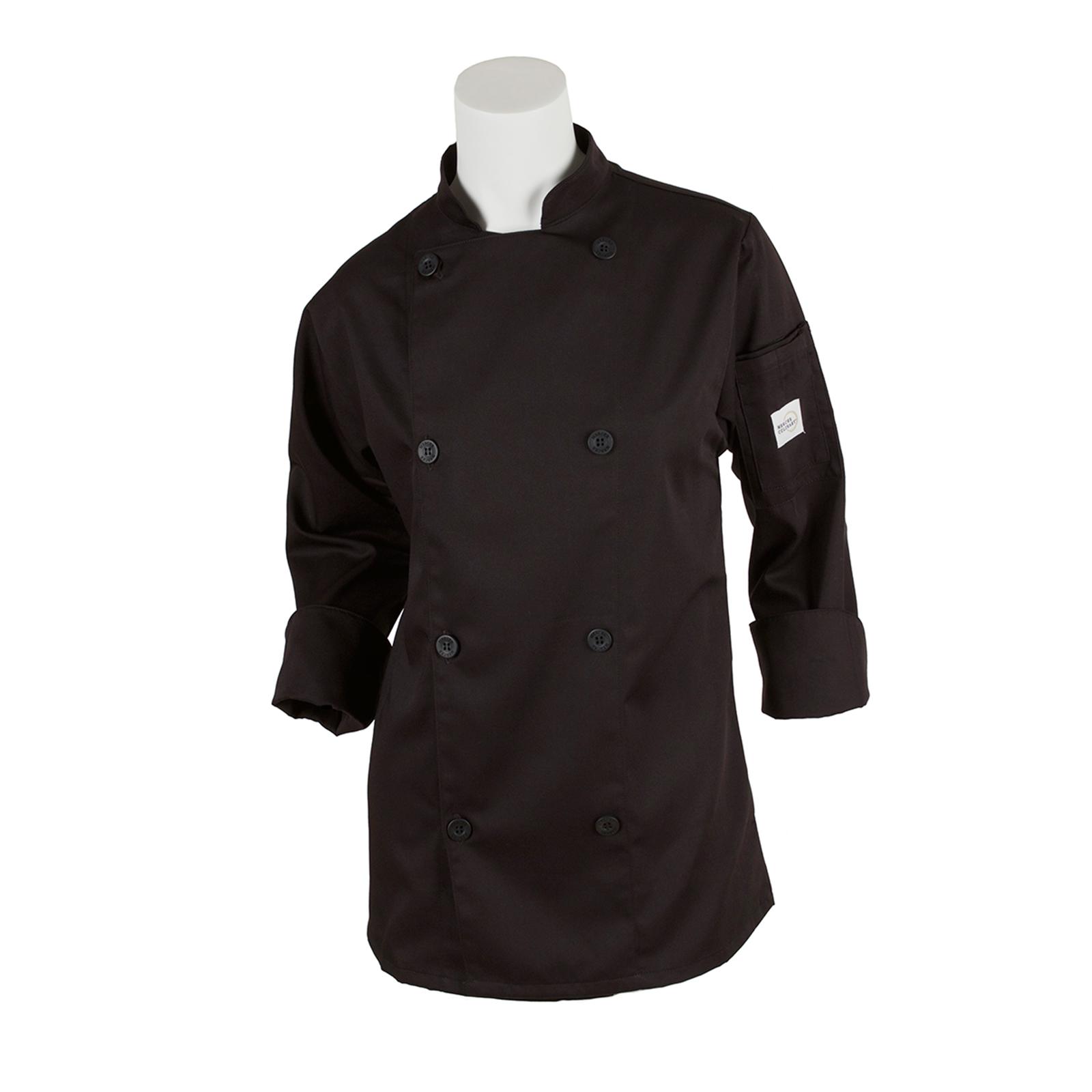 Mercer Culinary M61030BKXXS chef's coat