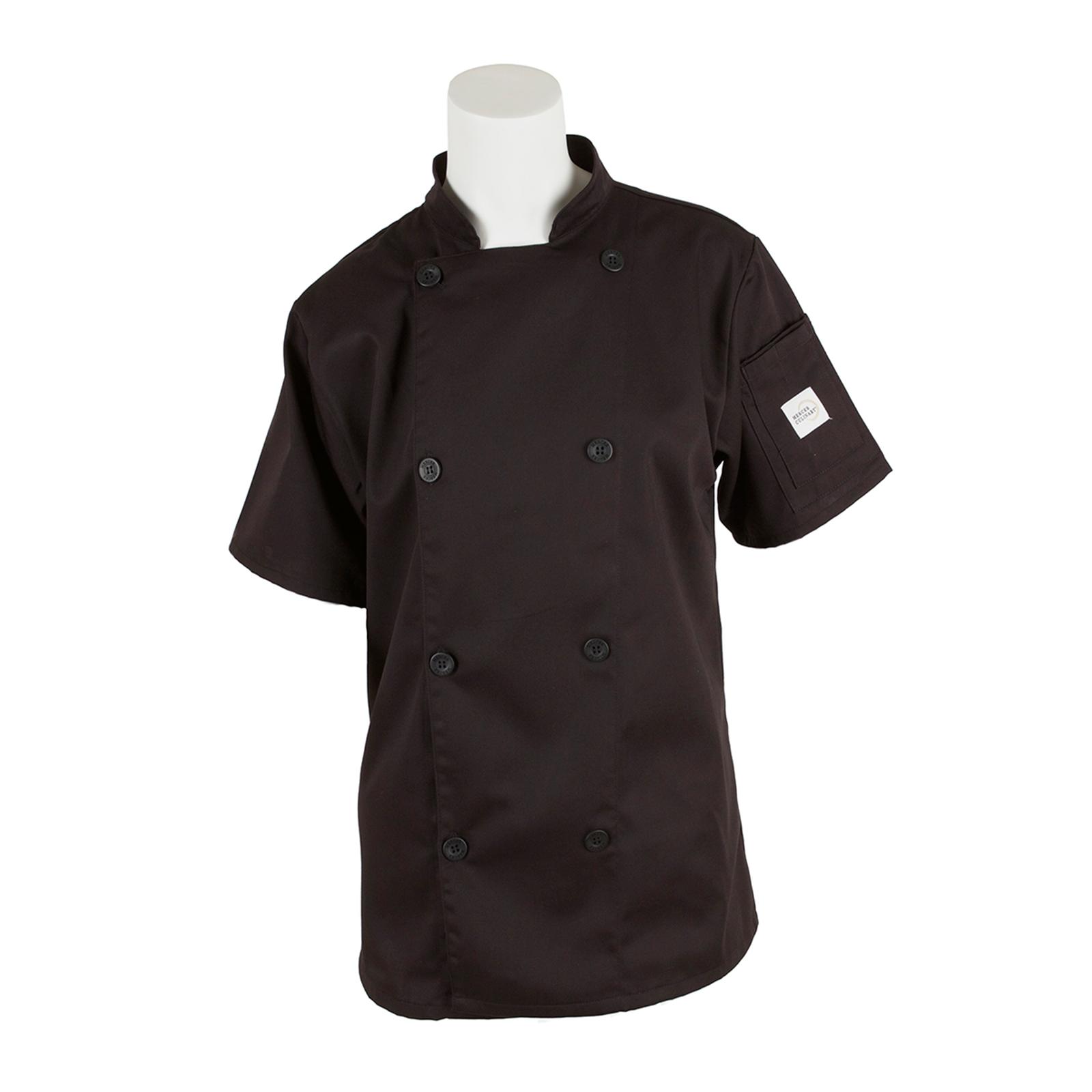 Mercer Culinary M61032BKXXS chef's coat