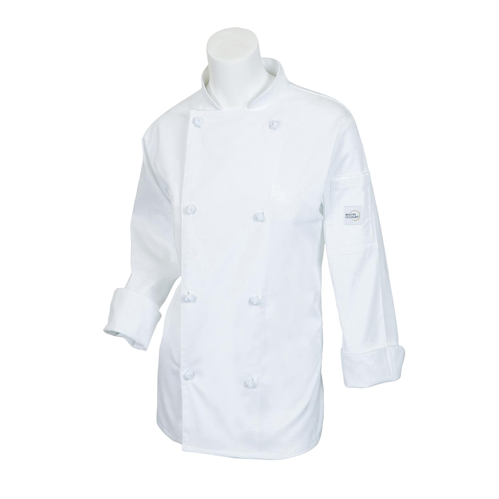 Mercer Culinary M61040WH1X chef's coat