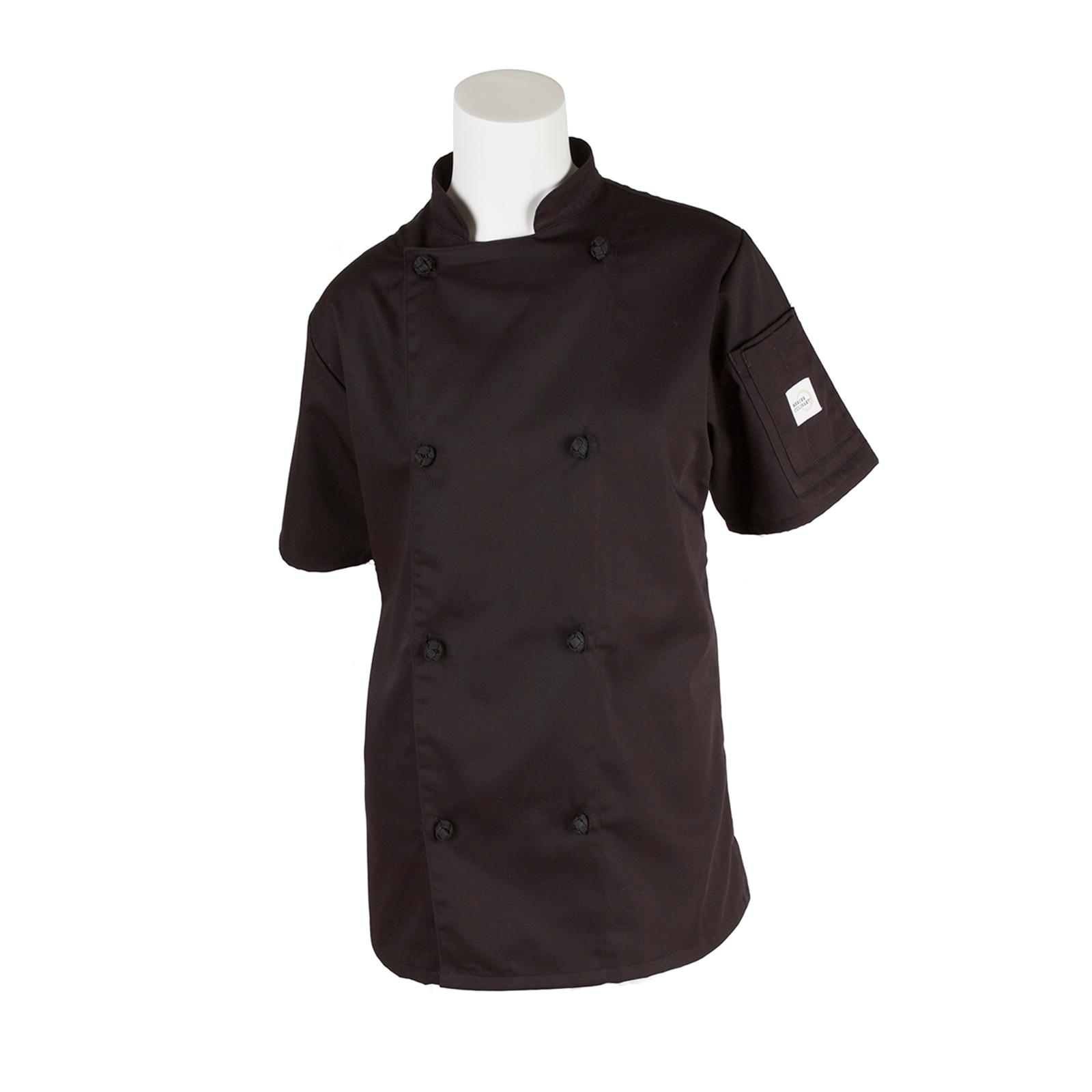 Mercer Culinary M61042BK2X chef's coat
