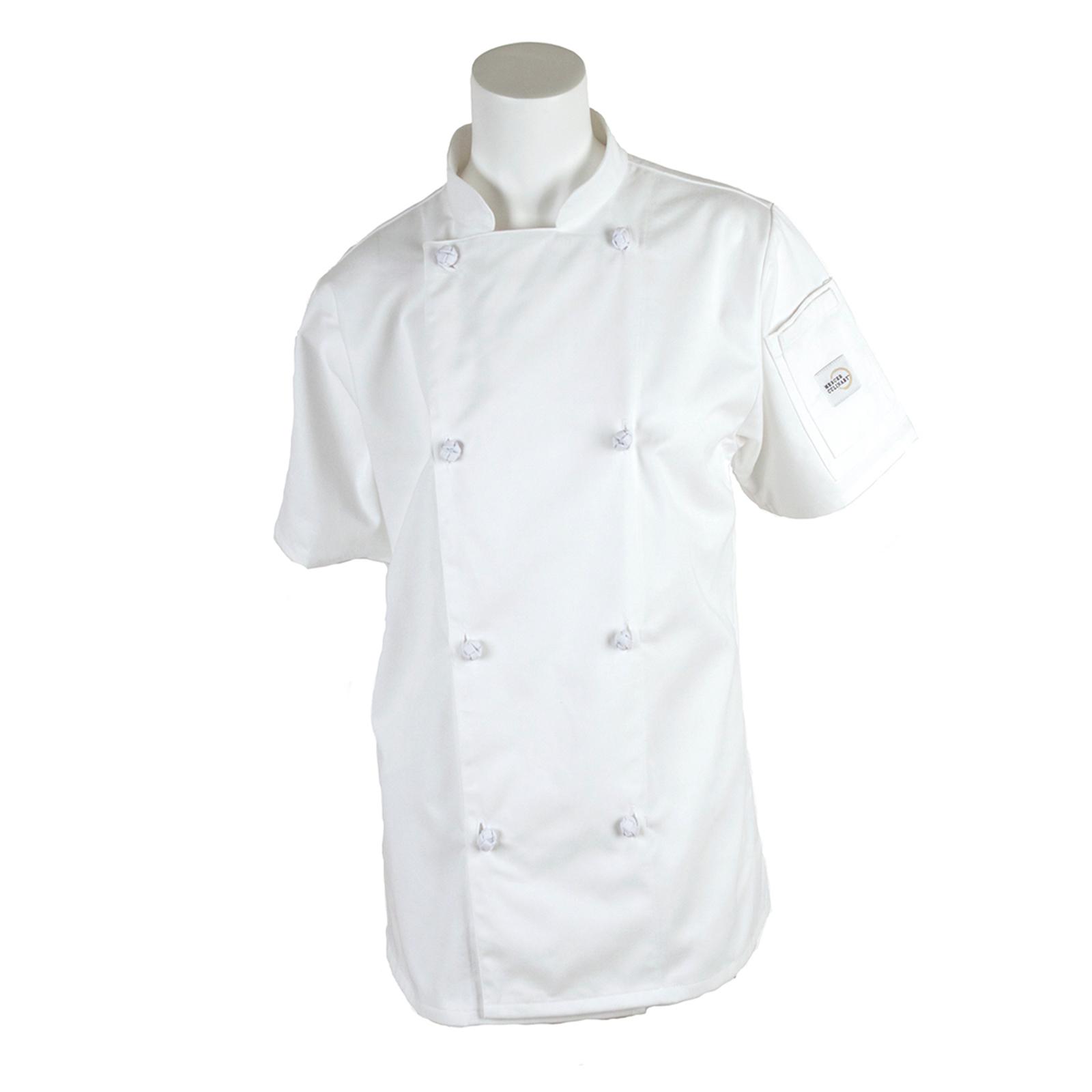 Mercer Culinary M61042WHM chef's coat