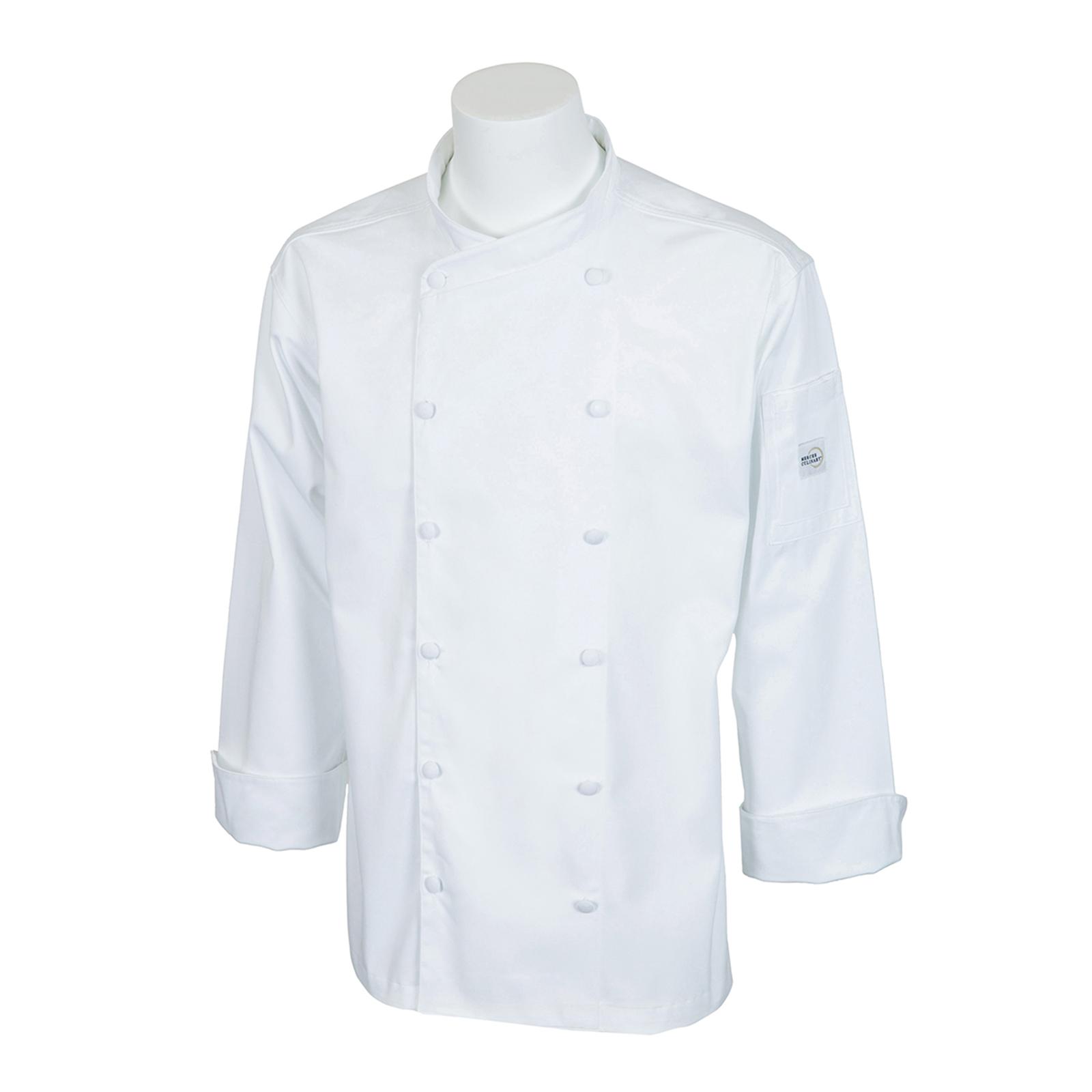 Mercer Culinary M62010WHXS chef's coat