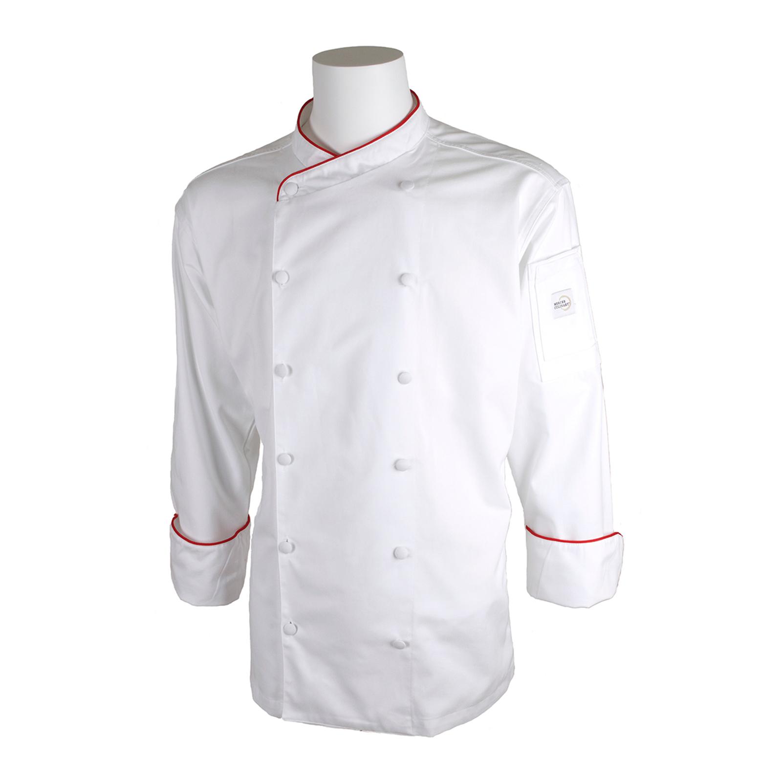 Mercer Culinary M62015WRXS chef's coat