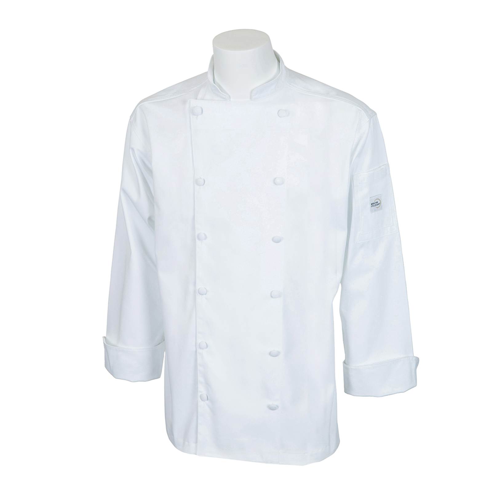 Mercer Culinary M62030WH2X chef's coat