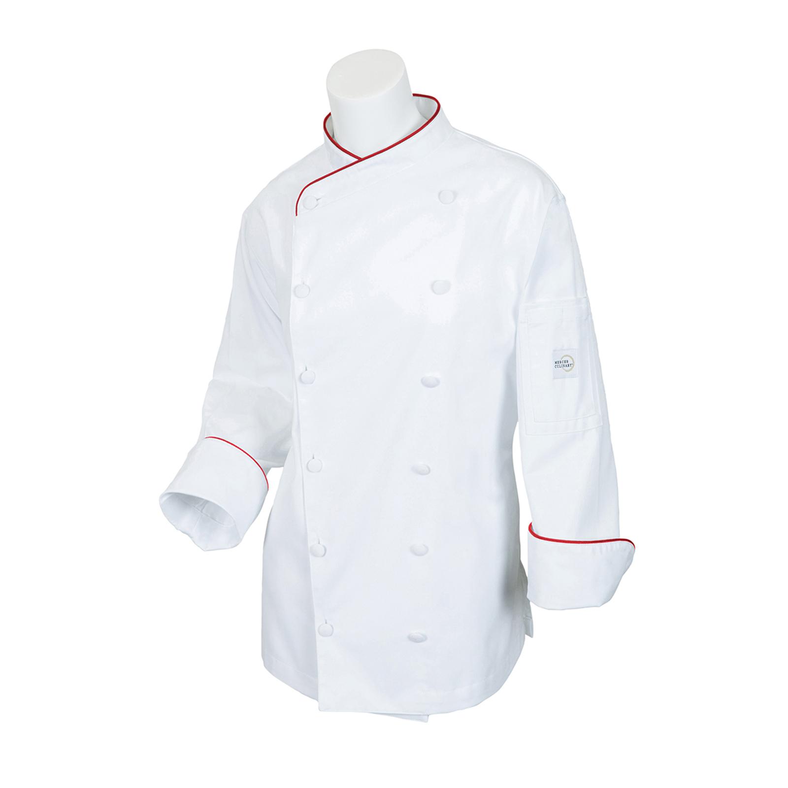 Mercer Culinary M62045WR2X chef's coat