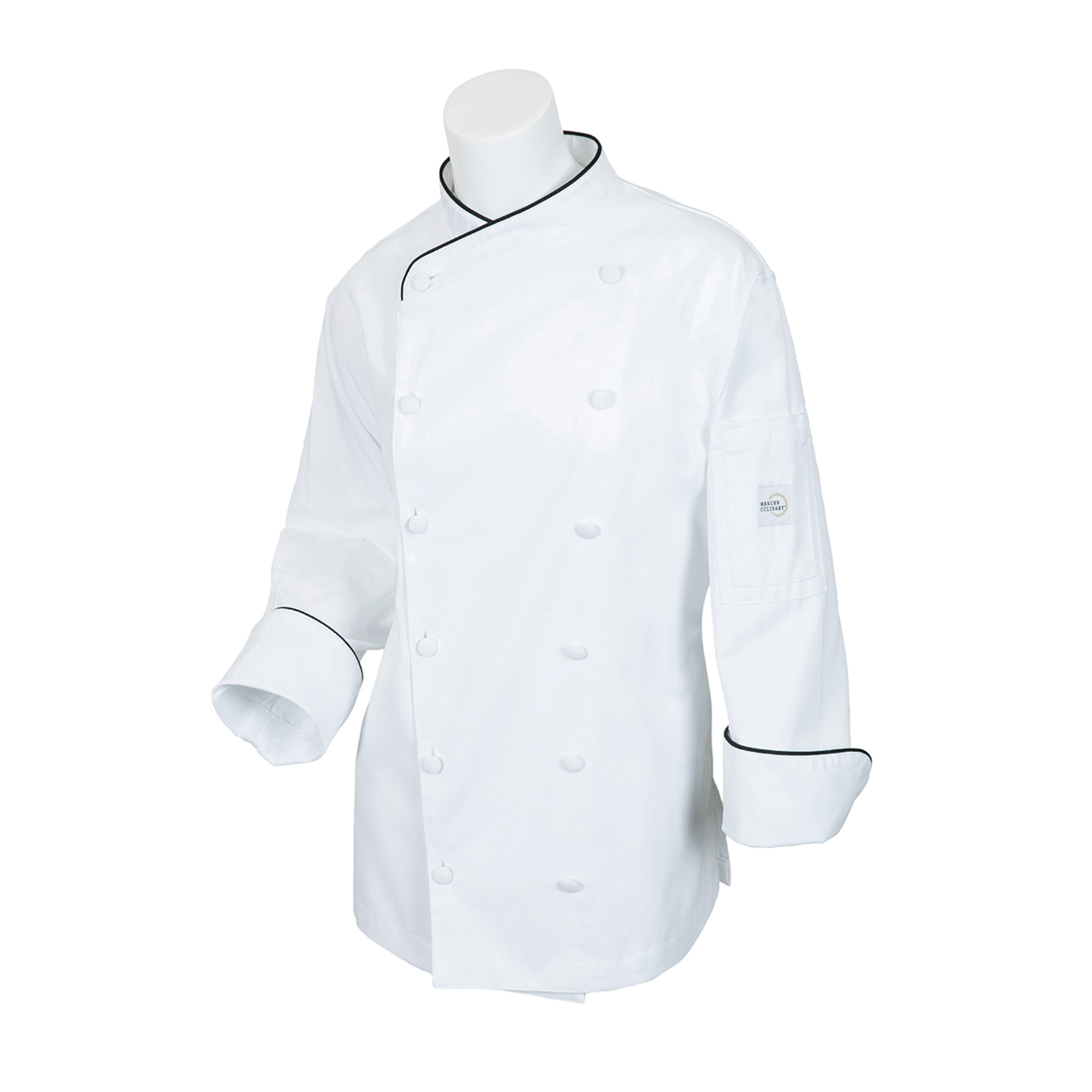 Mercer Culinary M62050WB3X chef's coat