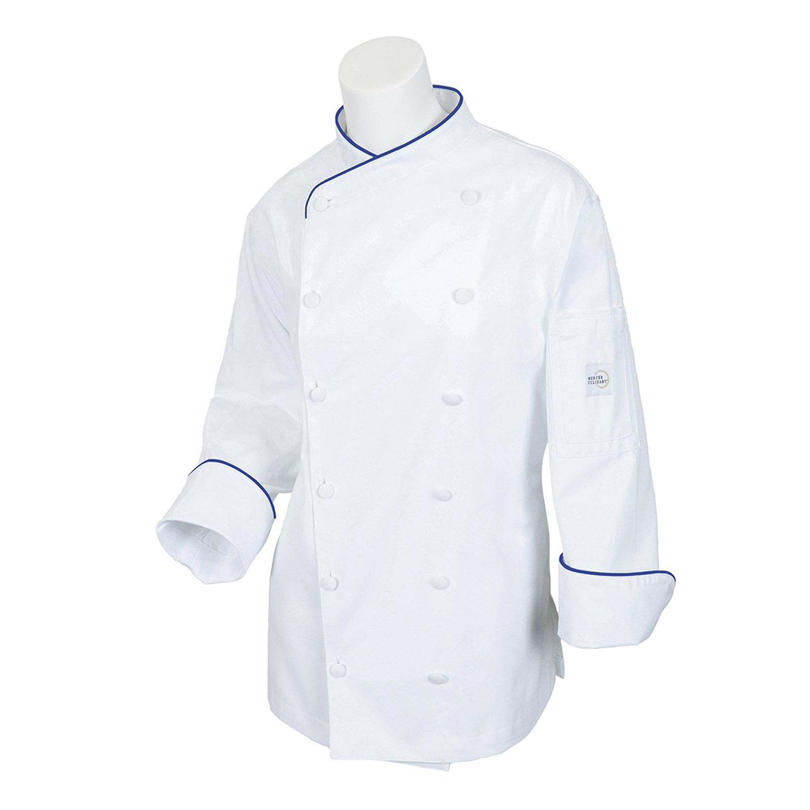 Mercer Culinary M62050WRB3X chef's coat