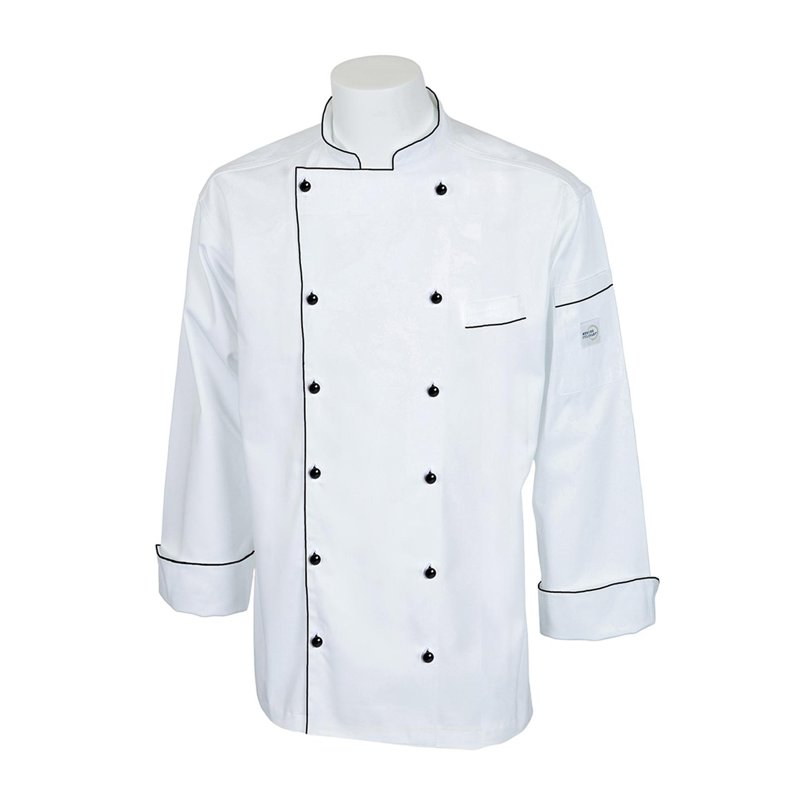 Mercer Culinary M62090WB2X chef's coat