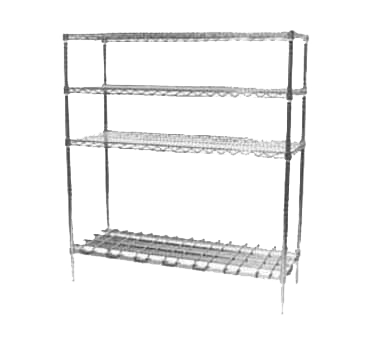 Metro 2436DRS dunnage shelf