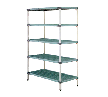 5Q547G3 Metro shelving unit, plastic with metal post