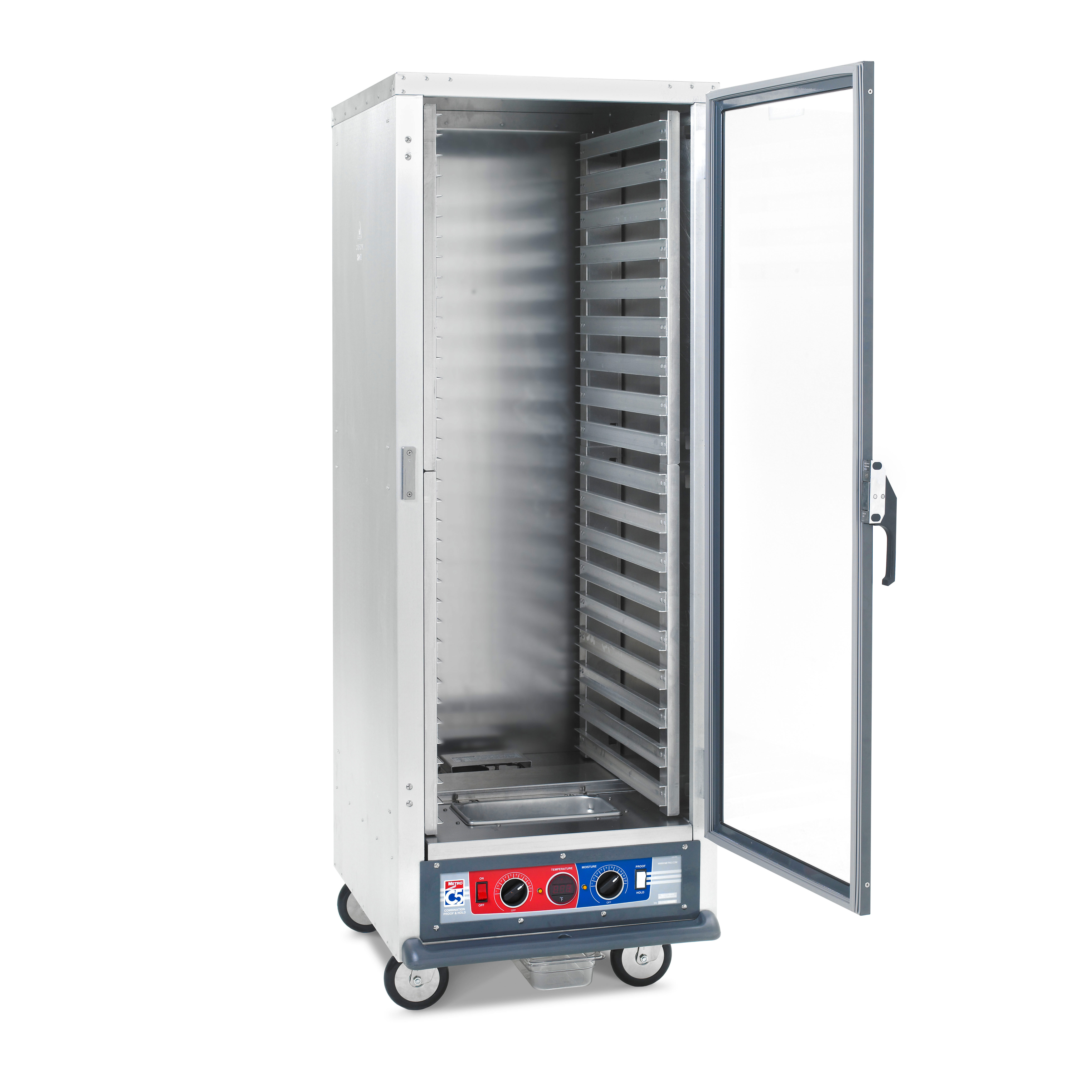 Metro C519-CFC-L Heated Holding Proofing Cabinet, Mobile