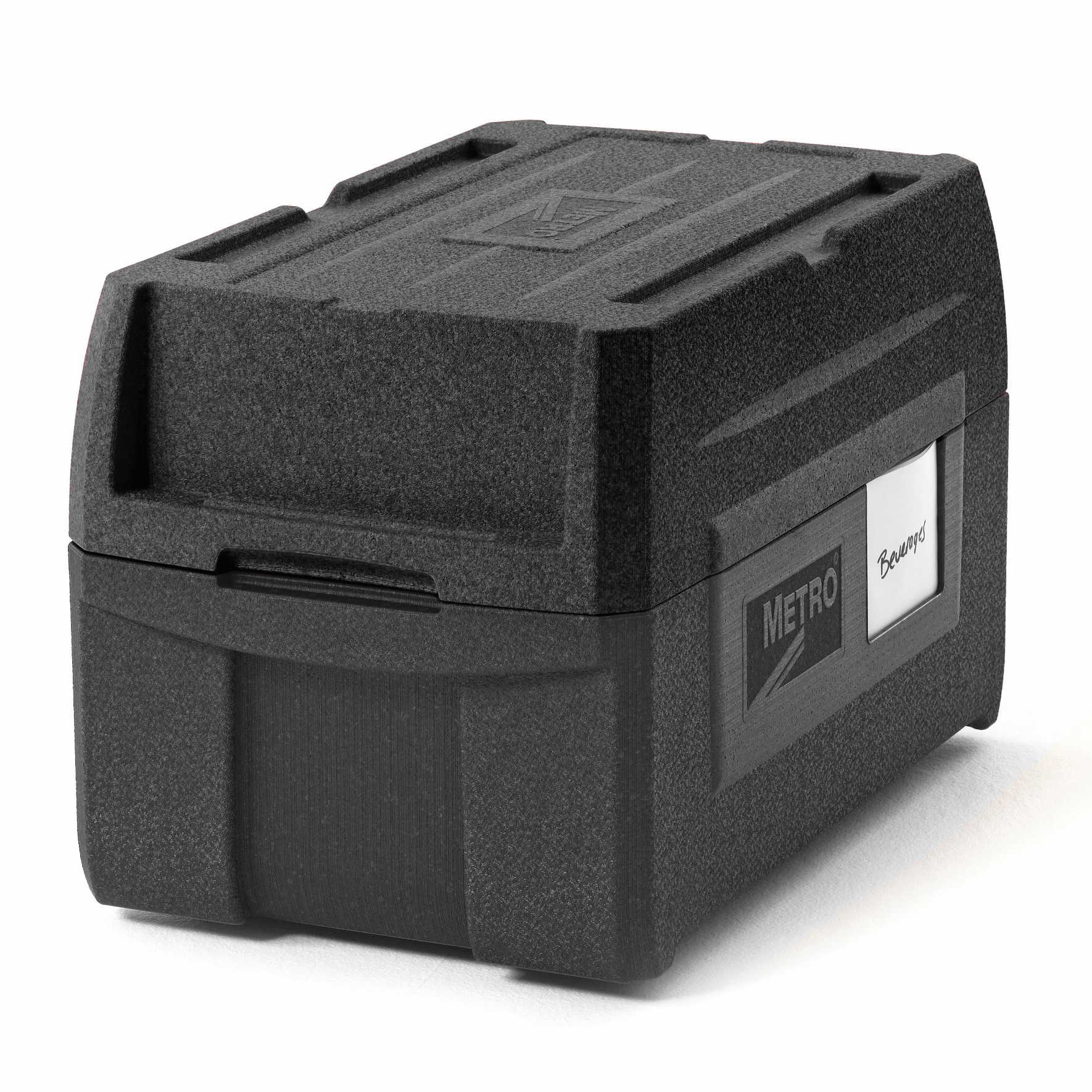 Metro ML180XL-BL food carrier, insulated plastic
