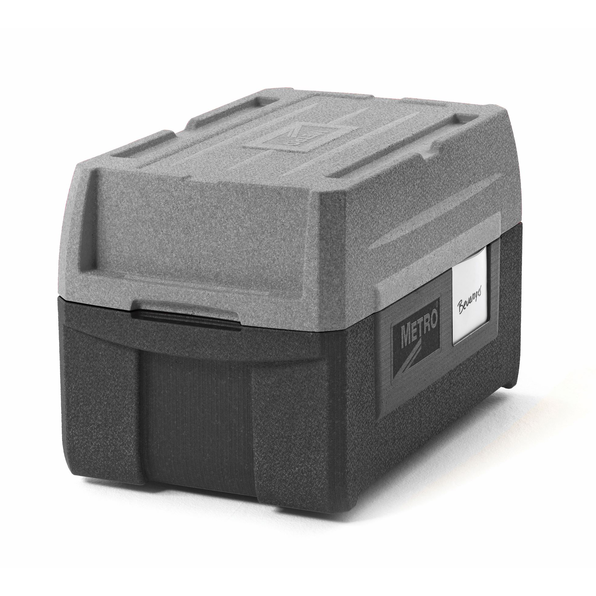 Metro ML180XL-GY food carrier, insulated plastic