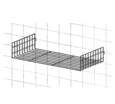 Metro PBA-GSD shelving, wall grid shelf