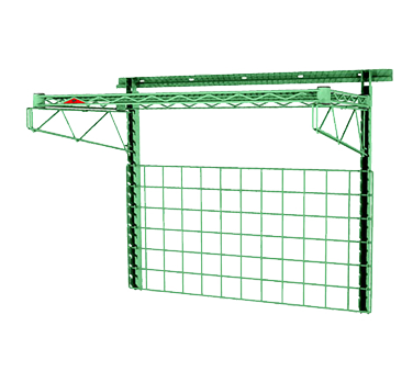 Metro SWK36-1 shelving, wall grid unit