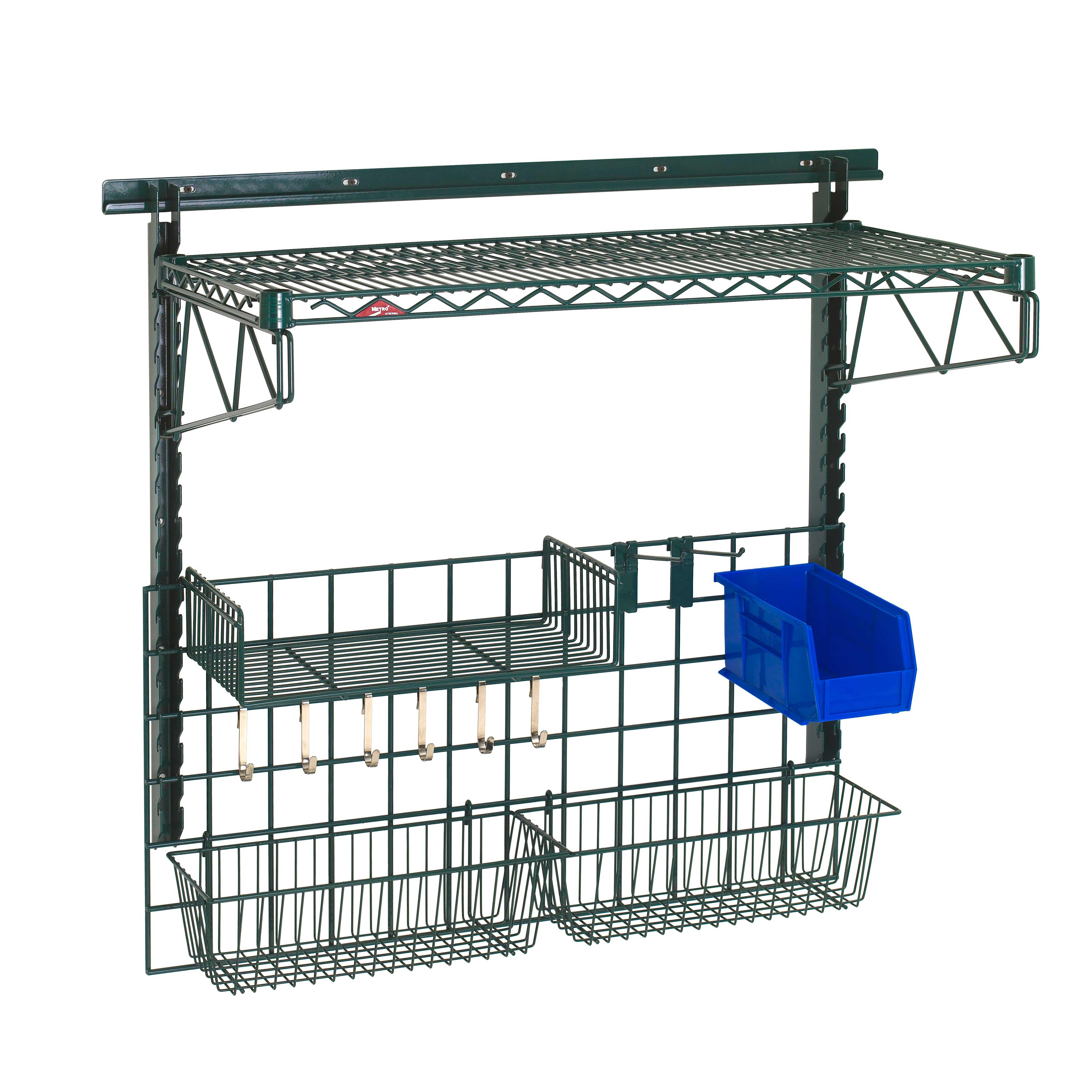 Metro SWK36-1A2-SR shelving, wall grid unit