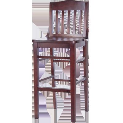 MKLD Furniture A6235-BS SOLID bar stool, indoor