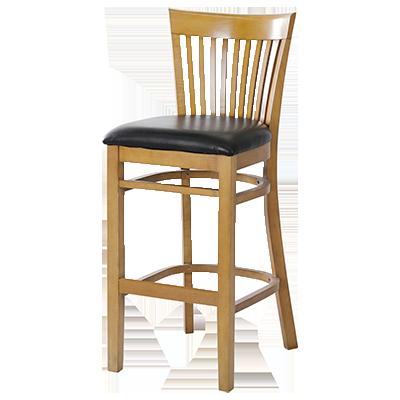 MKLD Furniture A6239-BS SOLID bar stool, indoor