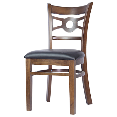 MKLD Furniture A6246 SOLID chair, side, indoor