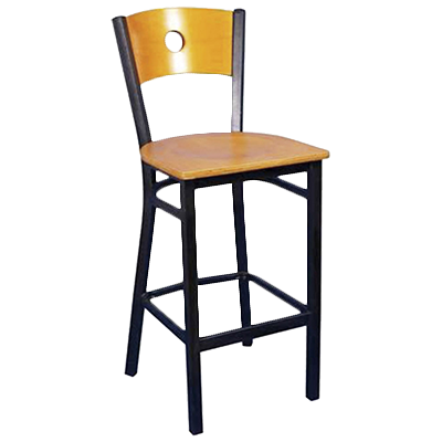 MKLD Furniture AM836A-BS BV bar stool, indoor