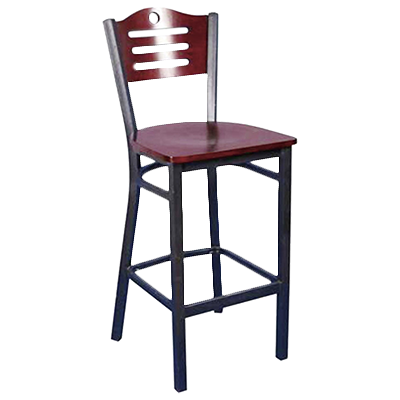 MKLD Furniture AM836B-BS GR1 bar stool, indoor