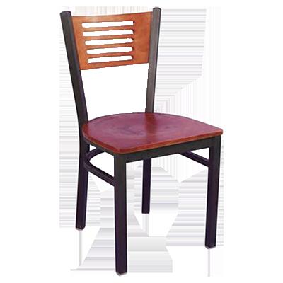 MKLD Furniture AM836C V chair, side, indoor
