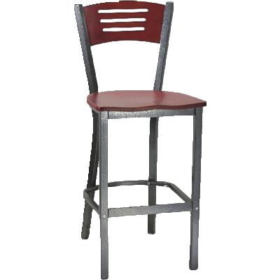 MKLD Furniture AM836D-BS BUV bar stool, indoor