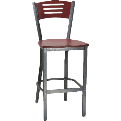 MKLD Furniture AM836D-BS V bar stool, indoor
