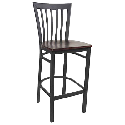MKLD Furniture AM839-BS SOLID bar stool, indoor