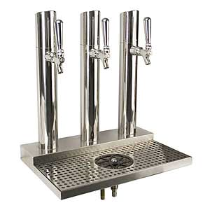 Micro Matic USA BS-SKY-3PSSKR draft beer / wine dispensing tower