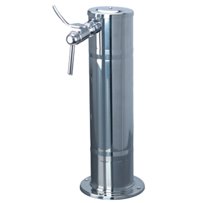 Micro Matic USA DS-141-PSS-W draft wine dispensing tower