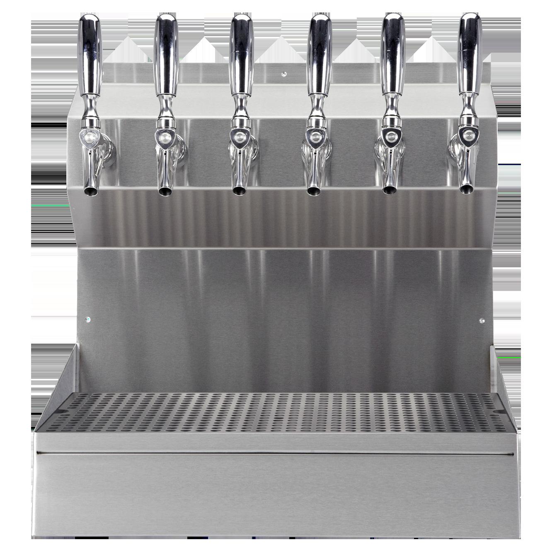 Micro Matic USA KRONOS-6SSKR draft beer / wine dispensing tower