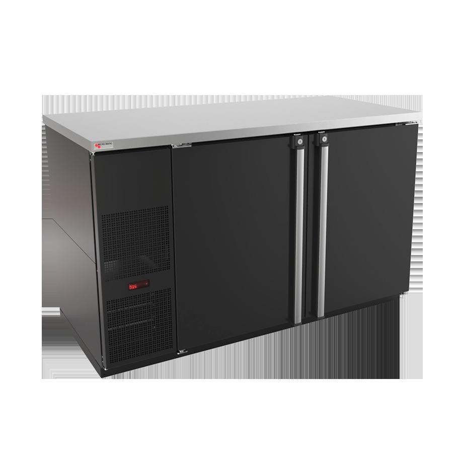 Micro Matic USA MBB58-E back bar cabinet, refrigerated