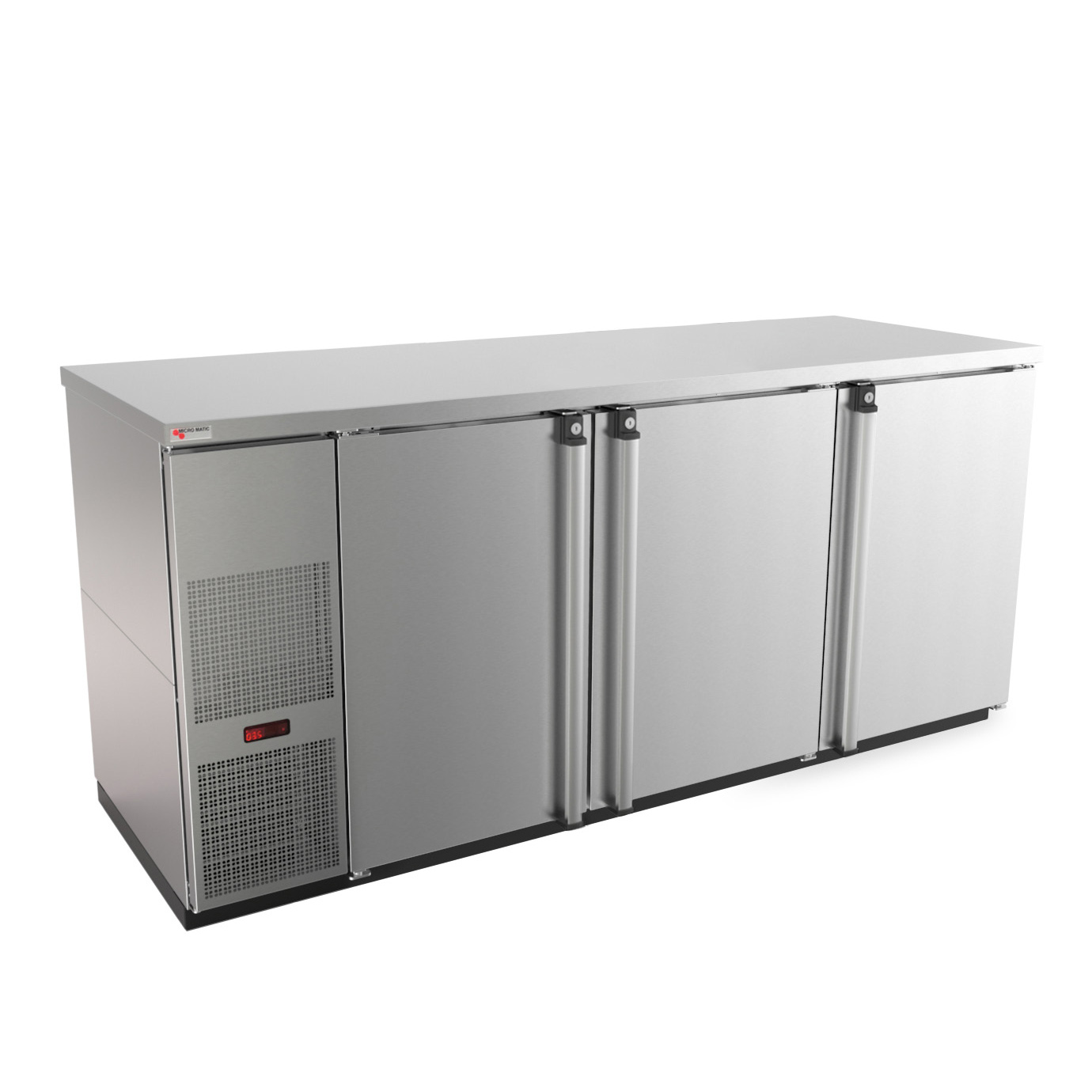 Micro Matic USA MBB78S-E back bar cabinet, refrigerated