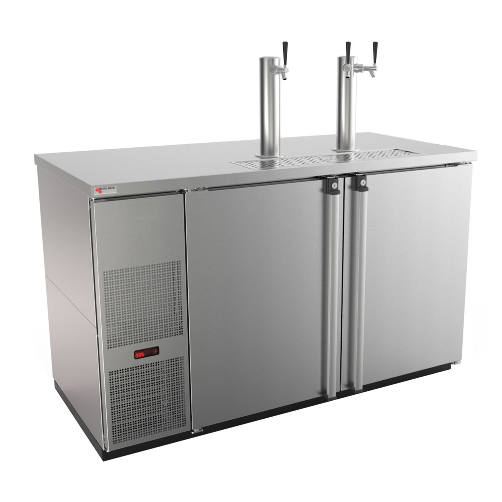 Micro Matic USA MDD58S-E draft beer cooler