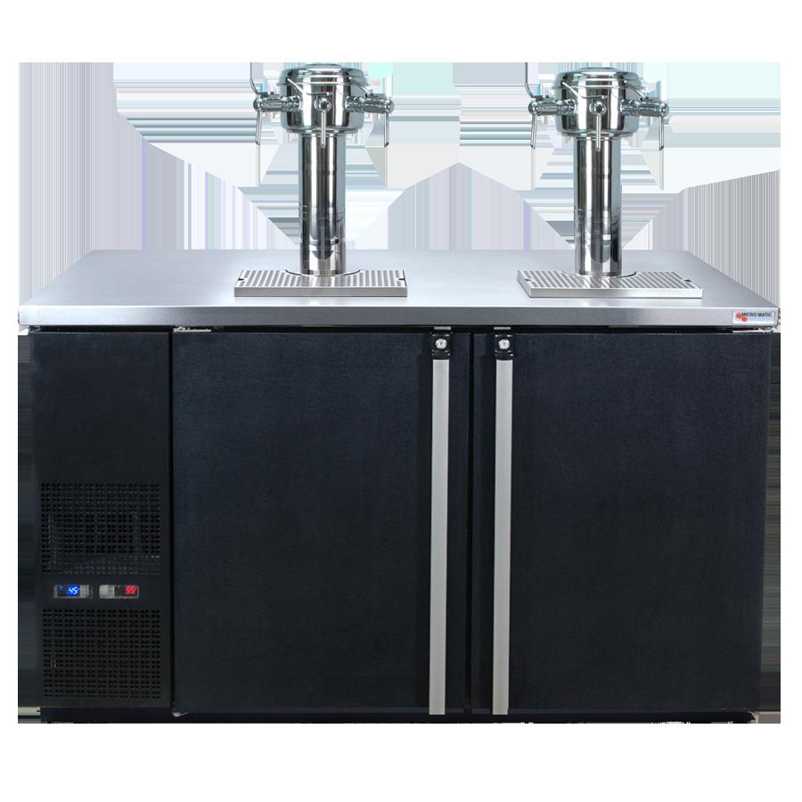 Micro Matic USA MDD58W-E-D wine cooler dispenser