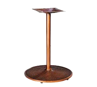 MTS Seating 3418-2LS PC table base, metal