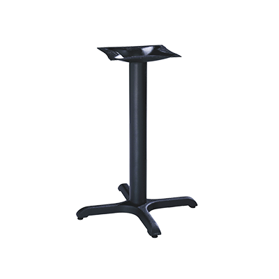 MTS Seating CI-22-3LS BW table base, metal